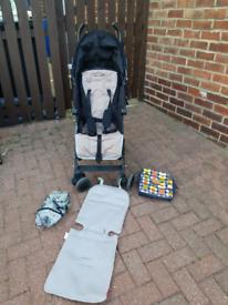 Maclaren quest pushchair stroller buggy raincover bag mclaren