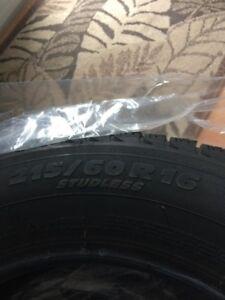 Michellin X-Ice winter tires