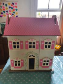 Lovely Wooden Dolls House