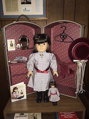 American Girl Samantha    Doll  Trunk    Mini    First Edition
