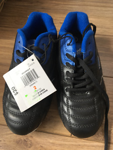 soccer cleats - size two - brand new