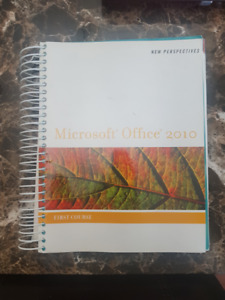 New Perspectives - Microsoft Office 2010 (First Course)