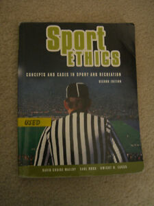 KINE 4595 Sport Ethics Required Textbook YORK UNIVERSITY