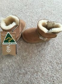 Brand new with tags baby sheepskin boots