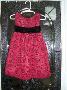 Burgundy/Black Size 3T Dress Kitchener / Waterloo Kitchener Area image 1