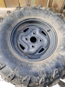 Grizzly/kodiac Factory rims with tires