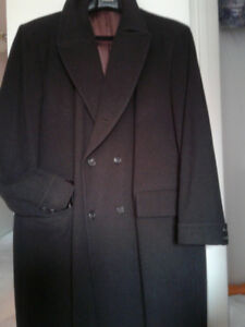 Mens wool & Cashmere coat