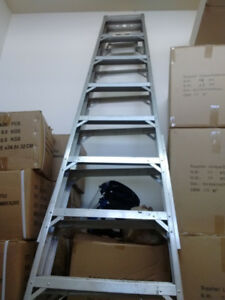 12 foot (12') portable  step ladder (Used) - Lite Products Inc.