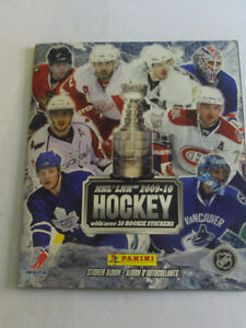 ALBUM COMPLET DE STICKERS DE HOCKEY DE LA LNH 2009-10