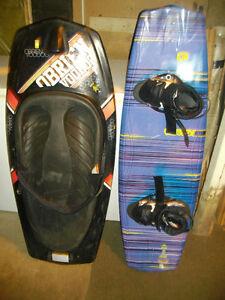 Wake board and Knee board combo