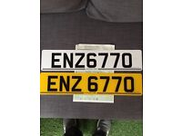 Private plate going cheap