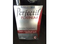 Unopened box of 'perfectil platinum' 60 tablets