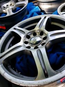 15inch aftermarket wheels!
