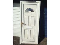 SOLID UPVC DOOR WHITE