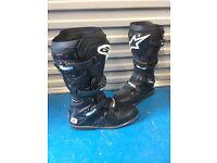 Alpinestar Motocross Boots suzuki honda yamaha kawasaki ktm husqvarna. Size 9.