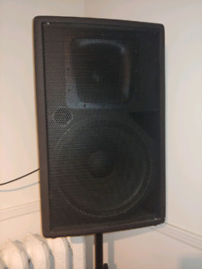 Yorkville pa speakers with amp