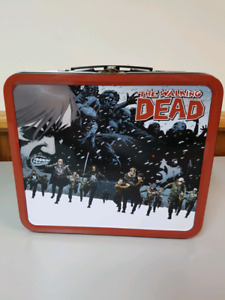 Walking dead series 2 metal lunchbox collectible