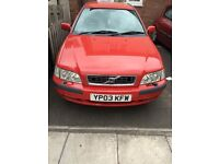 Volvo s40 sport 1.6 REDUCED FOR QUICK SALE!!!!!!!!! £500