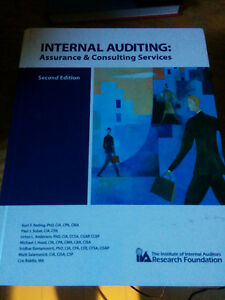 Internal Auditing Textbook - $40 OBO
