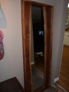 Large Solid Wood 5 Foot Mirror