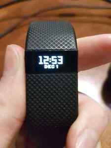 Fitbit Charge HR-size small-black