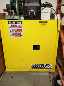 Just rite flammable storage cabinet
