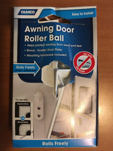 CAMCO AWNING DOOR ROLLE BALL