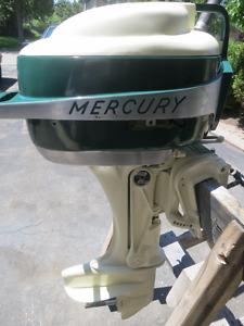 Vintage 50's Mercury Mark 25 Hurricane outboard