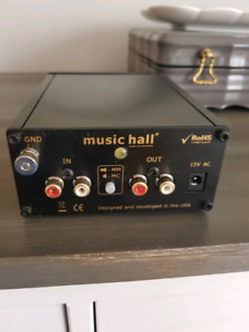 Music Hall preamp phono