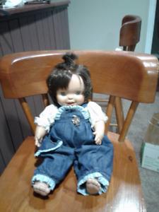 Life like baby doll