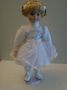 FIGURE SKATER PORCELAIN DOLL