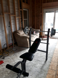 Marcy weight bench for sale