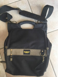 BRAND NEW ZIPPERED PROFESSIONAL ELECTRICIAN'S TOOL POUCH