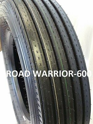 11r24.5 2-tires Road Warrior Steer Tires New Heavy Duty 16 Ply