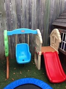 Little tikes hide and seek climber and slide