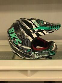 Kids Motocross helmet and clothing