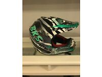 Kids Motocross helmet and clothing