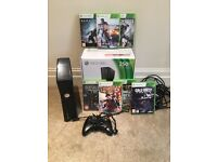 250G Xbox 360 console + 7 Games