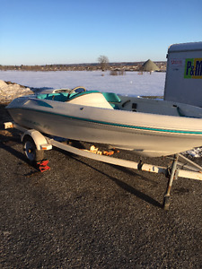 SEARAY   F14   WITH BLOWN MOTOR