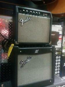 FENDER FRONTMAN 15G $89 AND FENDER MUSTANG I V2 AMPS $145 PRISTINE CONDITION - GREAT TONE AMAZING PRICES