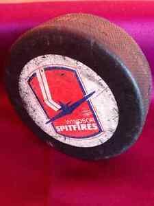 Windsor Spitfires Official Hockey Puck