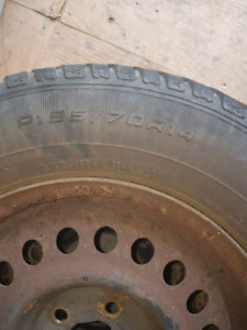 Winter tires, used for 1 season