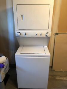 Washer/Dryer combo. Perfect for apartments and condos!