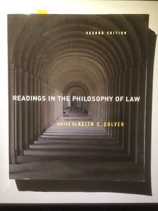 Readings in the Philosophy of Law, 2nd ed. - Culver