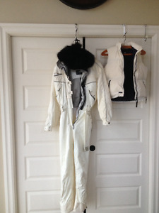killey master tech ski suit woman small