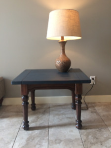 Country Contemporary End Tables (2)