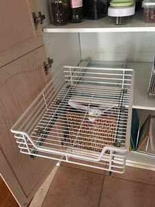 Heavy Duty Roll Out Cabinet Organizer - Pull Out Under Cabinet