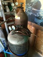 oxy acetylene  torch with accessories