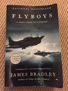FLYBOYS by James Bradley-a true story of courage