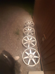 Universal 4 bolt aftermarket rims